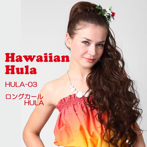 フラウィッグで憧れのフラロコダンサーに大変身 ポニーテールスタイルが簡単です フラダンス ウィッグ フラウィッグ ロングカールHULA ハワイアン フラ HULA タヒチアン まとめ髪 ヘアピースポニーテール ウイッグ ヘアスタイル 付け毛 つけ毛 ダンス 超定番 ギフ_包装 髪型 ポリネシアン 部分