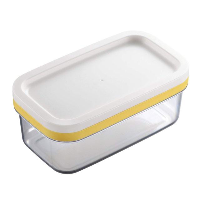バターをワイヤープレートにギュッと一押しするだけで 手を汚さず約5gにカットできます 激安通販 3 980円以上で送料無料 ST-3005 バターケース カットできちゃう ラッピング無料
