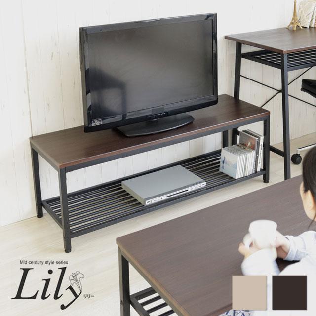 ヤマソロ Lily リリー TV台 幅120cm 75-316 75-317