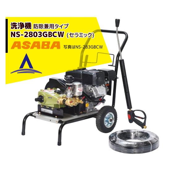 【麻場】洗浄機 防除兼用タイプ NS-2803GBCW