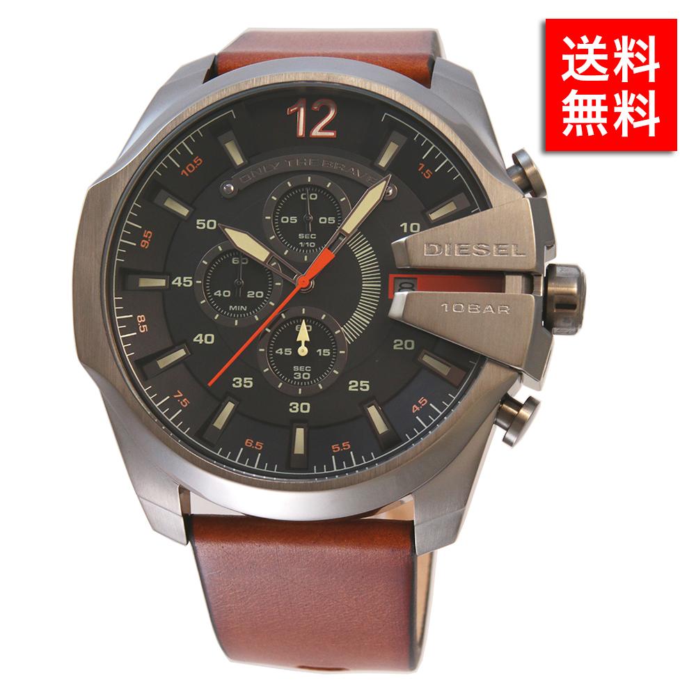 【2年保証】ディーゼル DIESEL MEGA CHIEF 時計 クロノグラフ DZ4343メンズ 男性 紳士 人気 オシャレ ブランド