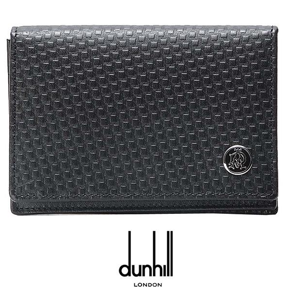 ダンヒル 財布 dunhill L2V347A 名刺入れ BLACK プレゼント ギフト 送料無料