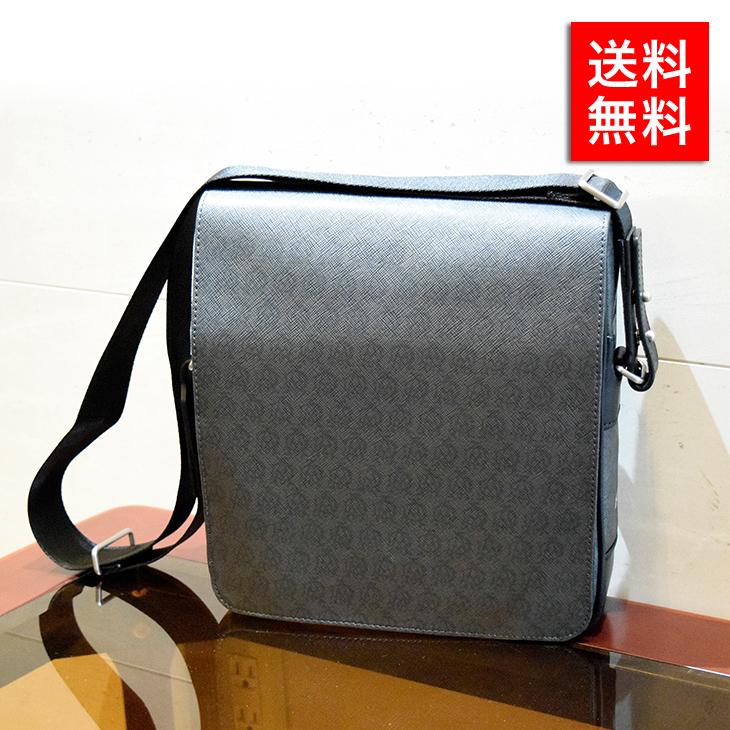 ダンヒル バッグ DUNHILL ショルダーバッグ L3R760Z GRY グレー ビジネス カジュアル プレゼント ギフト 送料無料