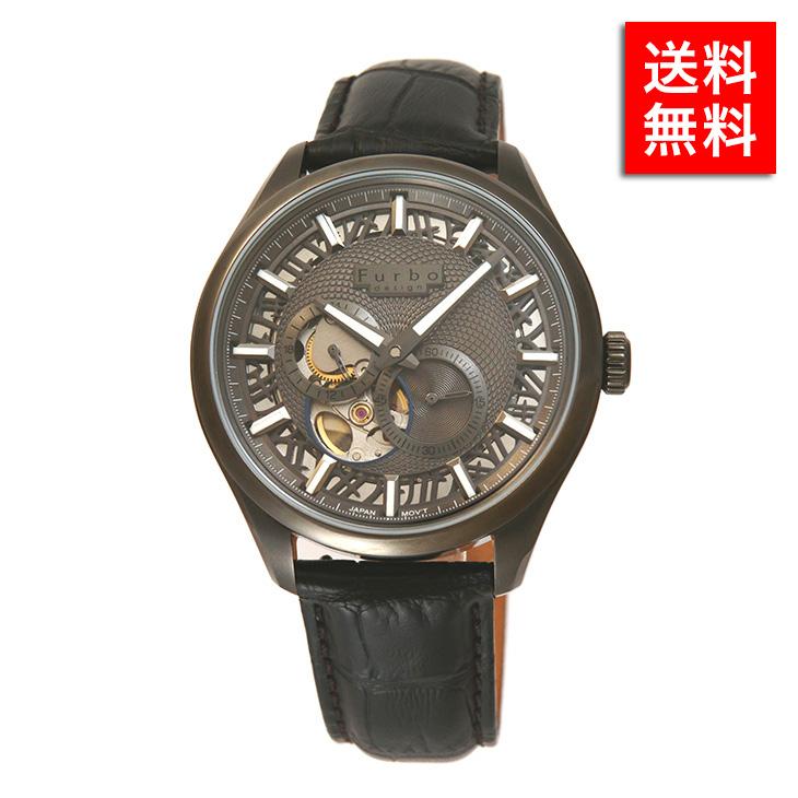 フルボデザイン 腕時計 Furbo design F2701 GBKBK メンズ ビジネス ウォッチ ステンレス