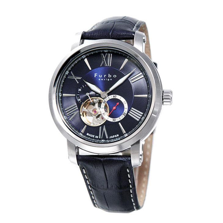 フルボデザイン 腕時計 Furbo design F5026SBLBL ブルー ブルー メンズ ビジネス カジュアル 日本製 Made In Japan Model 【送料無料】 時計 【日本製 自動巻き】かっこいい オシャレ 男性 社会人 ビジネス プレゼント ギフト