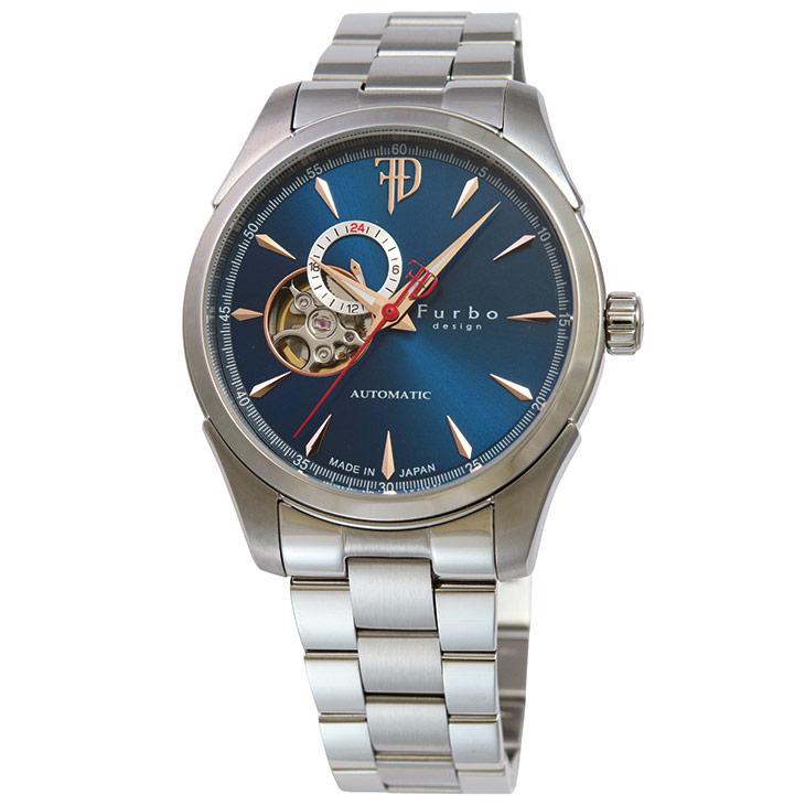 フルボデザイン Furbo design Japan Made メンズ 腕時計 日本製 F5029BLSS 時計 【日本製 自動巻き】かっこいい オシャレ 男性 社会人 ビジネス プレゼント ギフト 送料無料