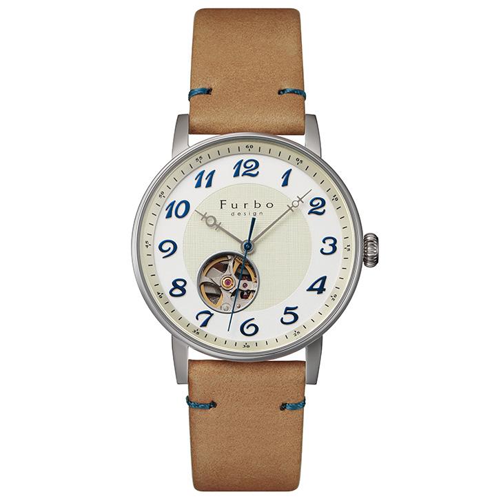 フルボデザイン 腕時計 Furbo design F8202SWHLB 自動巻き メンズ ウォッチ 時計 ギフト プレゼント 送料無料