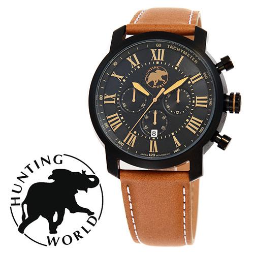 HUNTING WORLD ハンティングワールド HW930BK 腕時計 メンズ 送料無料