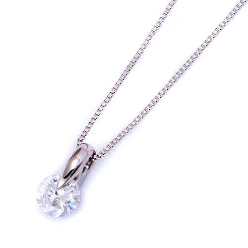 ダイヤモンドジュエリー プラチナ ダイヤモンド ネックレス 0.2カラット 鑑別カード付 DPTNC021 プレゼント ギフト 送料無料