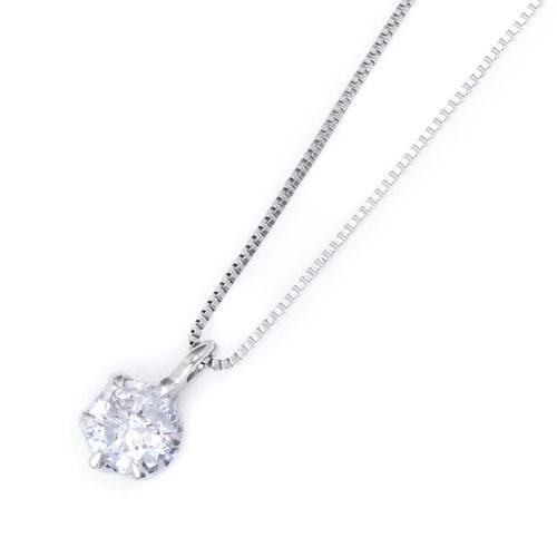 ダイヤモンドジュエリー プラチナ ダイヤモンド ネックレス 0.2カラット 鑑別カード付 DPTNC026 プレゼント ギフト 送料無料