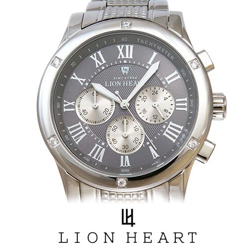 LIONHEART ライオンハート WATCH 腕時計 メンズ LHW101SGY プレゼント ギフト 送料無料