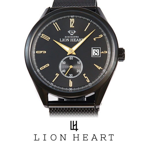 LIONHEART ライオンハート WATCH 腕時計 メンズ LHW103BBK プレゼント ギフト 送料無料