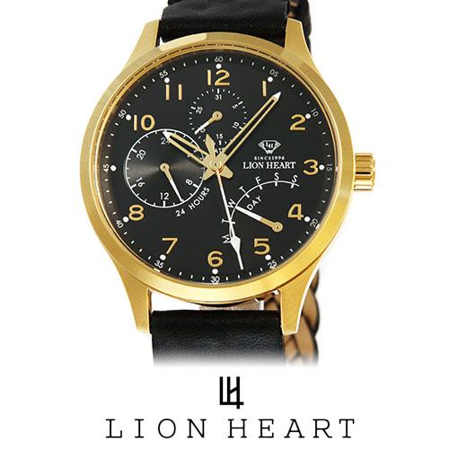 LIONHEART ライオンハート WATCH 腕時計 メンズ LHW105BKBK プレゼント ギフト 送料無料