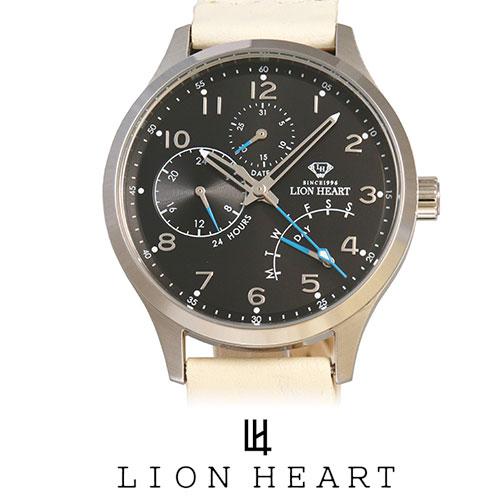 LIONHEART ライオンハート WATCH 腕時計 メンズ LHW105BKIV プレゼント ギフト 送料無料