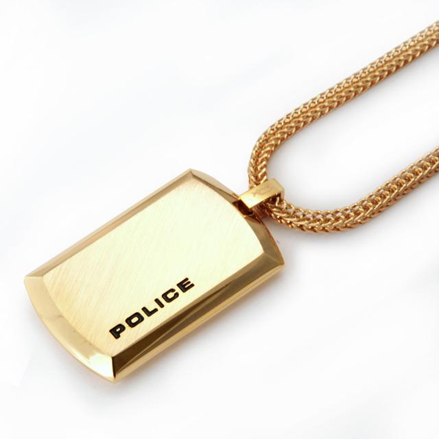 【POLICE/ポリス】 POLICE N PURITY/品番24920PSG-A男性用 ネックレス/ペンダント/ゴールド メンズ プレゼント ギフト 送料無料