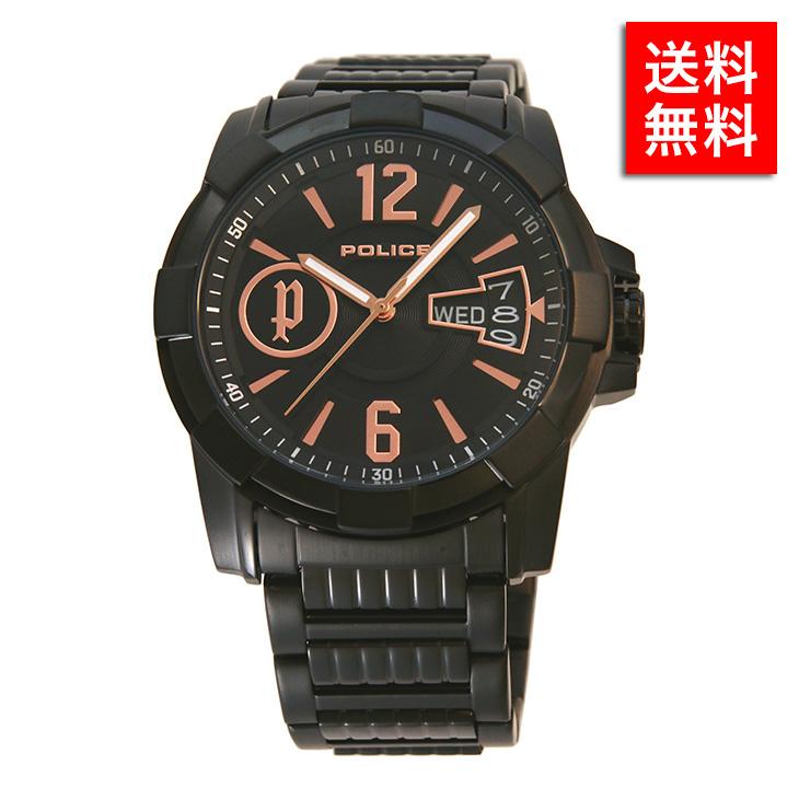 腕時計 ポリス POLICE12221 JSB/02M メンズ ビジネス ウォッチ ステンレス アクセサリー