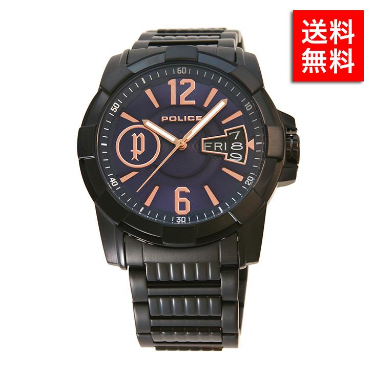 腕時計 ポリス POLICE12221 JSB/03M メンズ ビジネス ウォッチ ステンレス アクセサリー