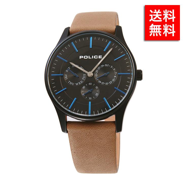 腕時計 ポリス POLICE 14701 JSB/02 メンズ ビジネス ウォッチ ステンレス アクセサリー