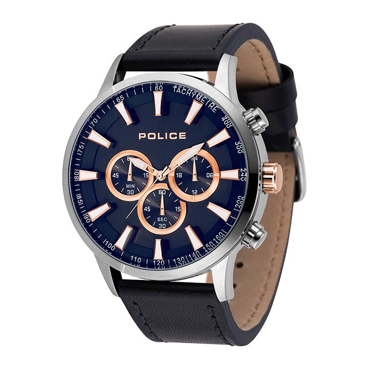 腕時計 ポリス POLICE 15000JS-03 メンズ ビジネス ウォッチ ステンレス アクセサリー