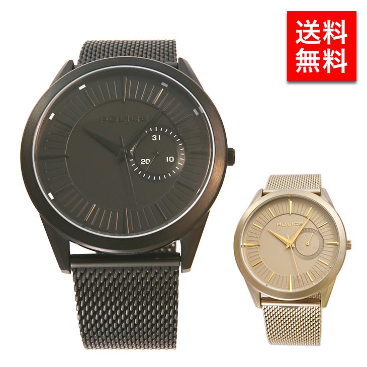 ポリス 腕時計 メンズ POLICE 送料無料 時計 プレゼント ギフト 誕生日プレゼント 男性 15919JSB