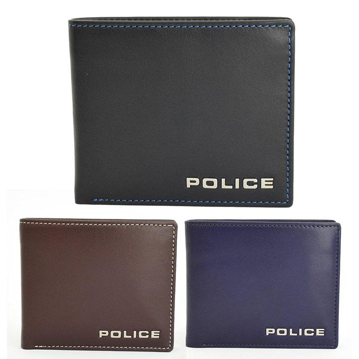 POLICE ポリス 二つ折り財布 ボルドゥーラ PLC133 メンズ プレゼント ギフト 送料無料