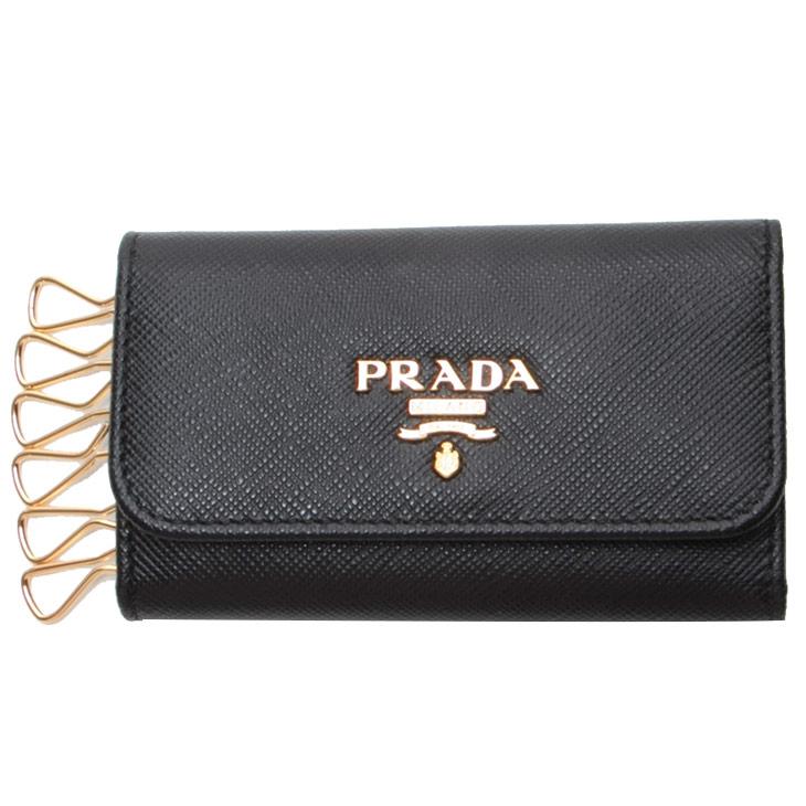 プラダ キーケース PRADA SAFFIANO METAL ORO 1PG222 レディース プレゼント ギフト 送料無料