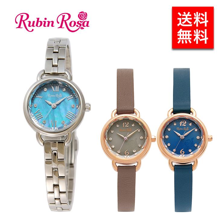 ルビンローザ 腕時計 ウォッチ レディース ソーラー チャージ 送料無料 時計 プレゼント ギフト 誕生日プレゼント 女性 R019
