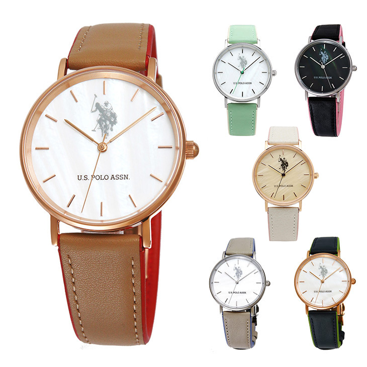 ユーエスポロアッスン 時計 US POLO ASSN ユニセックス 男女兼用 メンズ レディース プレゼント ギフト ウォッチ 腕時計 US-1A 送料無料