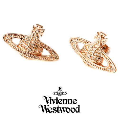 ヴィヴィアンウエストウッド VIVIENNE WESTWOOD ピアス レディース ミニバスレリーフ PG 724535B-3 プレゼント ギフト 送料無料