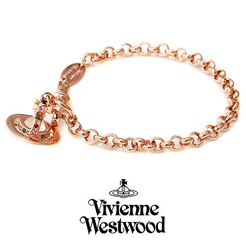ヴィヴィアンウエストウッド VIVIENNE WESTWOOD ブレスレット レディース プチオーブ PG 741467B-3 プレゼント ギフト 送料無料