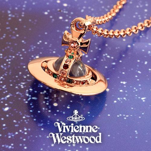 ヴィヴィアンウエストウッド VIVIENNE WESTWOOD ネックレス レディース タイニーオーブ PG 752014B-3 プレゼント ギフト 送料無料