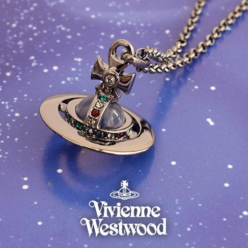 ヴィヴィアンウエストウッド VIVIENNE WESTWOOD ネックレス レディース タイニーオーブ RU 752014B-4 プレゼント ギフト 送料無料