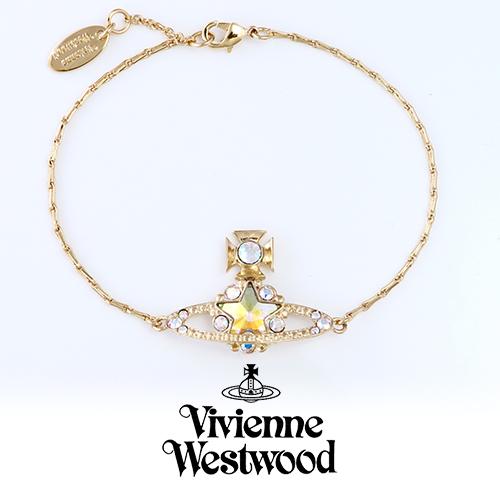 ヴィヴィアンウエストウッド ブレスレット VIVIENNE WESTWOOD ASTRID GD BBL811-3 プレゼント ギフト 送料無料