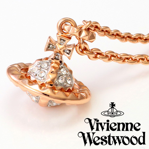 VIVIENNE WESTWOOD ヴィヴィアンウエストウッド アクセサリー ジュエリー ネックレス MAYFAIR 3DSMALLORB PGN MT12626-4 ピンクゴールド プレゼント ギフト 送料無料