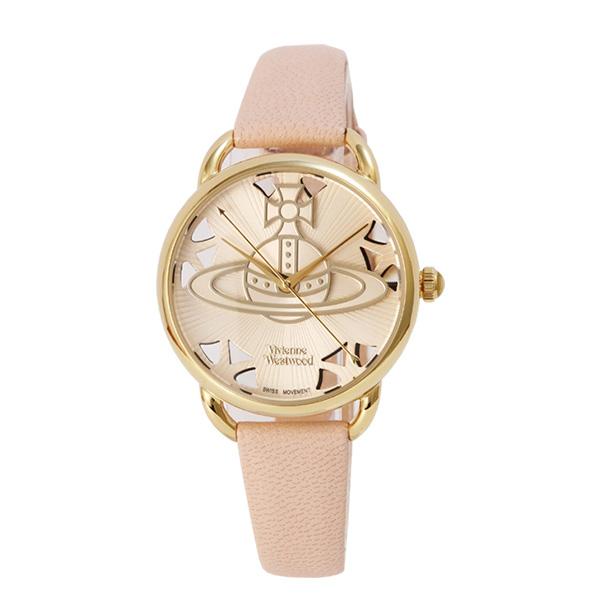 【2年保証】ヴィヴィアンウエストウッド 腕時計 Vivienne Westwood Leadenhall BG PK 革 VV163BGPK ステンレス アクセサリー