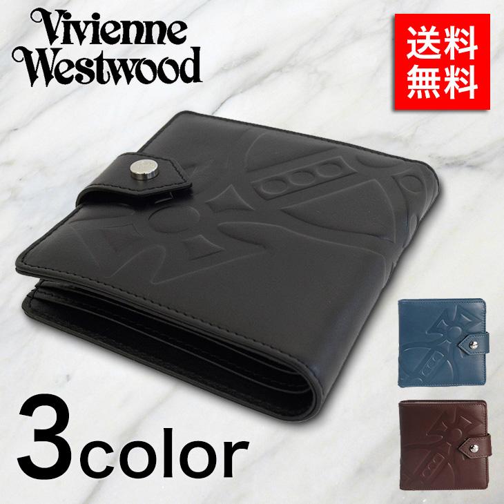 ヴィヴィアン・ウェストウッド 二つ折り財布 VIVIENNE WESTWOOD CHESTER 51090001