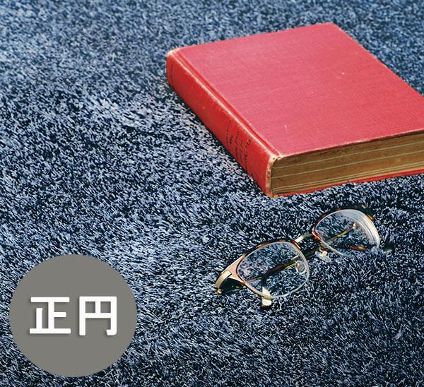 _ スミノエ ネオグラス 150×150正円 150cm×150cm ラグ ラグジュアリーな高密度シャギーラグ 防炎 防ダニ 日本製 光沢 モダンゴージャス 豪華