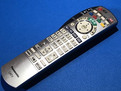 中古 Panasonic ブルーレイ セール開催中最短即日発送 CATV レコーダー STB用 純正リモコン などへも代用可 TZ-HDW610PW 新作アイテム毎日更新 TZ-HDW611PW TZ-HDW610D TZ-HDW611F TZ-HDW611D