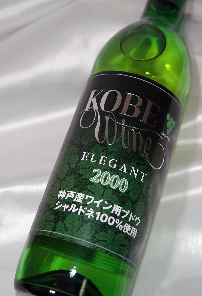 720 ml of Kobe wine elegant white