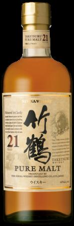 ニッカ 竹鶴21年ピュアモルト 700ml (新品)/ウイスキー/国産/ジャパニーズ/