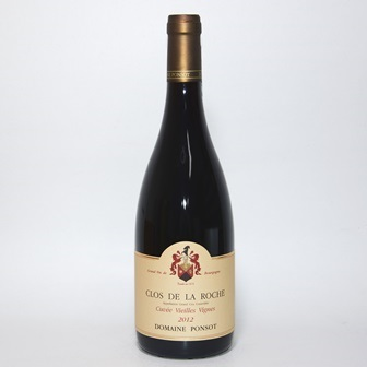クロド ラロッシュグランクリュ キュヴェ ヴィエイユ・ヴィーニュ[2012] 750ml【ドメーヌ ポンソ】/フランスワイン/ブルゴーニュワイン/赤ワイン/グランクリュ