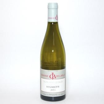 ニュイ サン ジョルジュ ブランラ ジェルボット[2013] 750ml【ドメーヌ デュ ラルロ】/フランスワイン/白ワイン/ブルゴーニュワイン