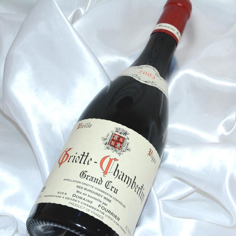 グリオット シャンベルタン G.C.(グラン・クリュ) [2003] 750ml【ドメーヌ フーリエ】/赤ワイン /フランスワイン/ブルゴーニュワイン