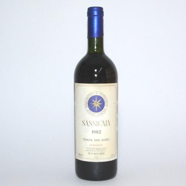 サッシカイア[1982] 750ml /イタリアワイン/赤ワイン/サシカイア