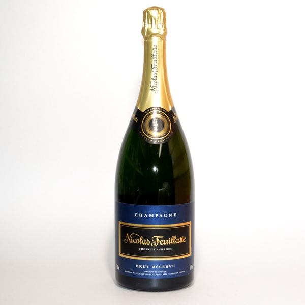 ニコラフィアット ブルーラベル マグナム 1500ml 正規品/泡/シャンパン/シャンパーニュ/シャンペン/フランスワイン/スパークリングワイン /