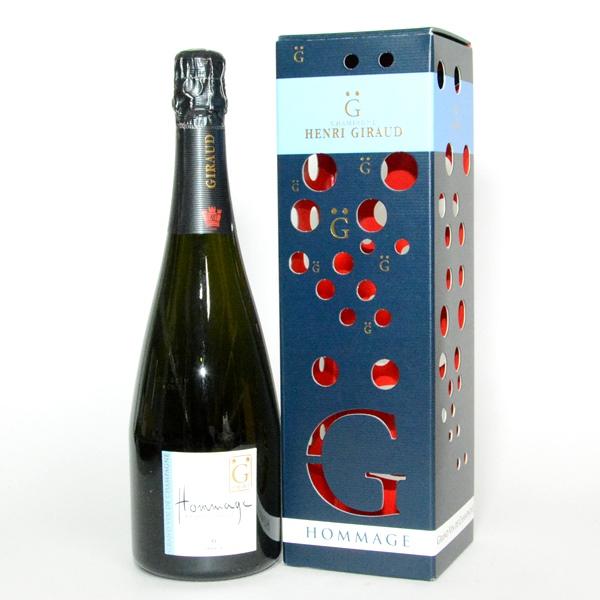 アンリ ジロー オマージュ ア フランソワ・エマール 750ml ギフトボックス入り/シャンパン/シャンペン/泡/フランスワイン/シャンパーニュ/スパークリングワイン/GB/プレゼント/クリスマス 父の日