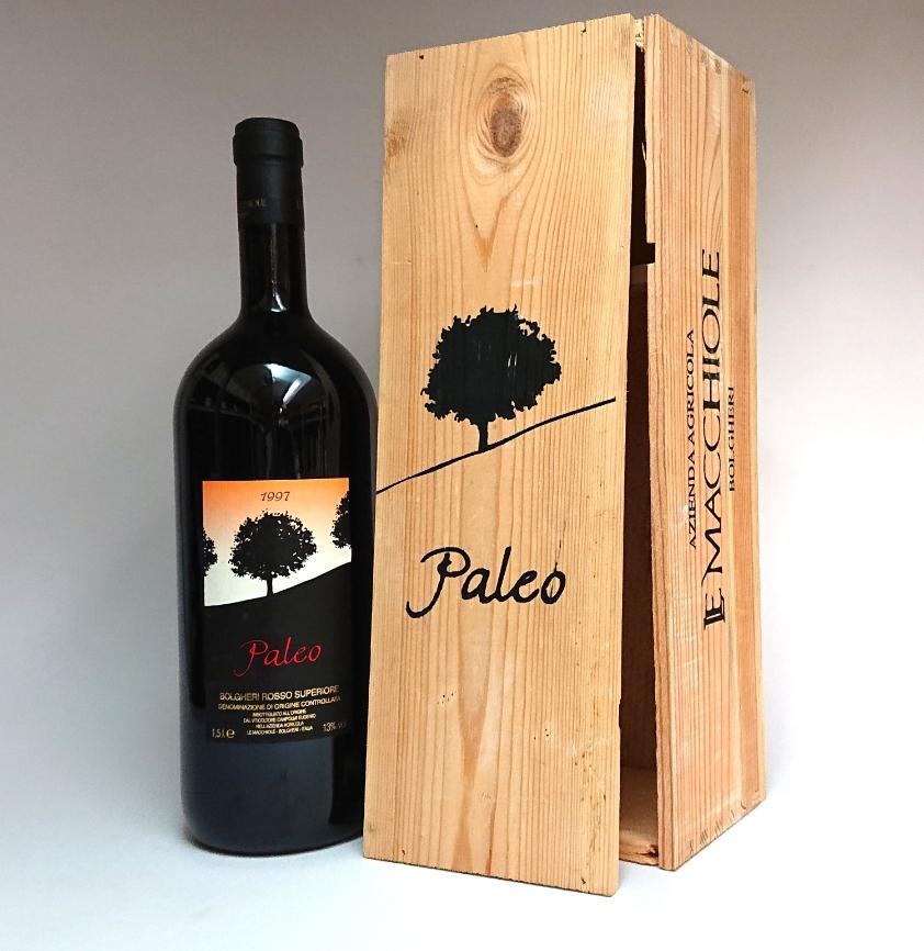 レ マッキオーレ パレオ ロッソ [1997] マグナム 1500ml 木箱入り/イタリアワイン/赤ワイン/トスカーナ/ボルゲリ/MG/ビッグサイズ/ビッグボトル/大容量/パーティ