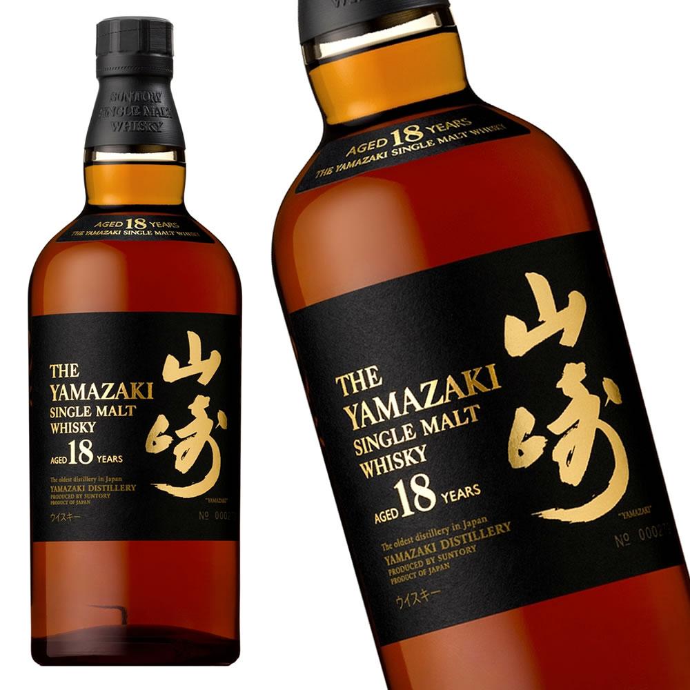 サントリー 山崎18年 700ml 【新品】/ウイスキー/国産ウイスキー