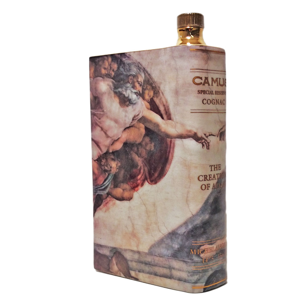 カミュ ブック アダム ミケランジェロ 40度 700ml/camus special reserve cognac the creation of adam michelangelo/