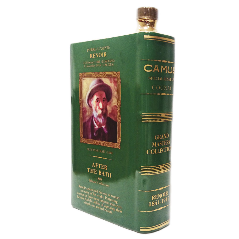 カミュ ブック ルノアール「アフターバス」 40度 700ml/camus special reserve cognac grand masters collection renoir /
